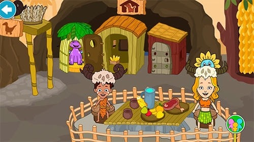 My Stone Age Town: Jurassic Caveman Android Game Image 3