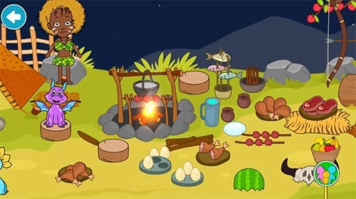 My Stone Age Town: Jurassic Caveman Android Game Image 4