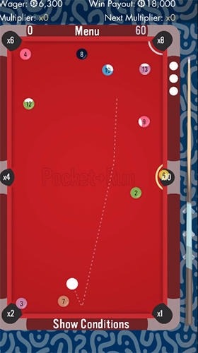 Pocket Run Pool Android Game Image 2