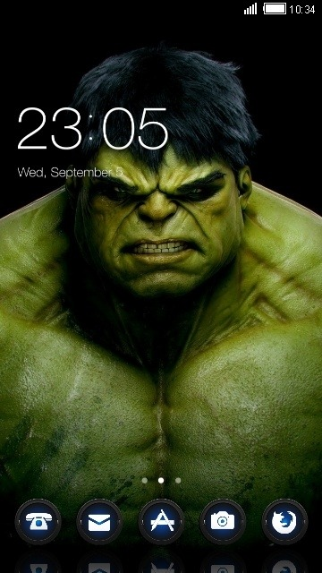 Hulk CLauncher Android Theme Image 1