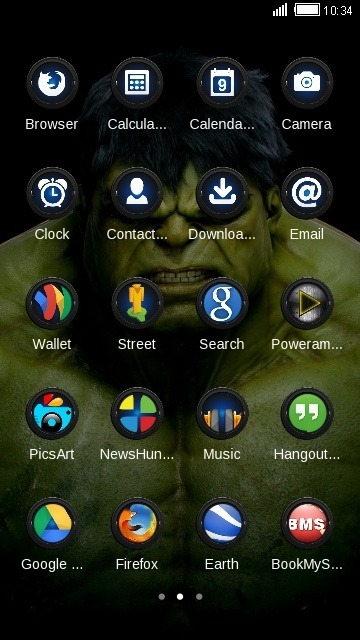 Hulk CLauncher Android Theme Image 2