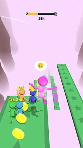 Fall Race 3D Android Game Image 2