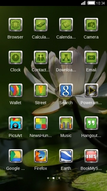 Flower CLauncher Android Theme Image 2