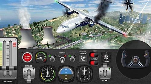 Airplane Flight Pilot Simulator Android Game Image 3