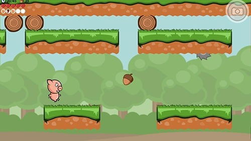 Crisp Bacon: Run Pig Run Android Game Image 2