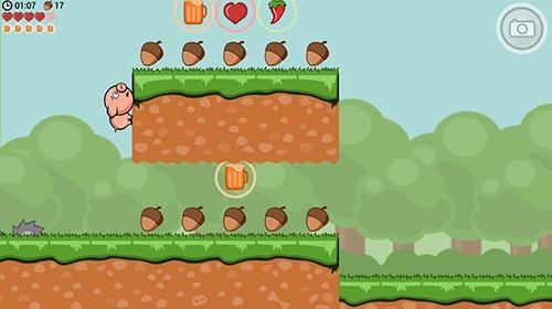 Crisp Bacon: Run Pig Run Android Game Image 3
