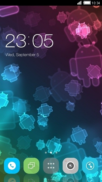 Droids CLauncher Android Theme Image 1