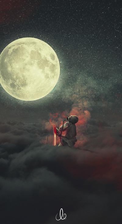 Moon Mobile Phone Wallpaper Image 1