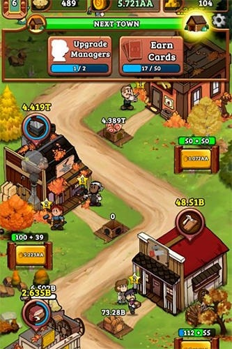 Idle Frontier: Tap Town Tycoon Android Game Image 2