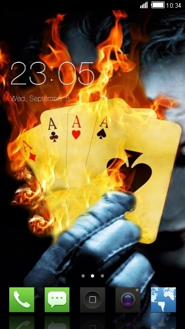 Cards CLauncher Android Theme Image 1