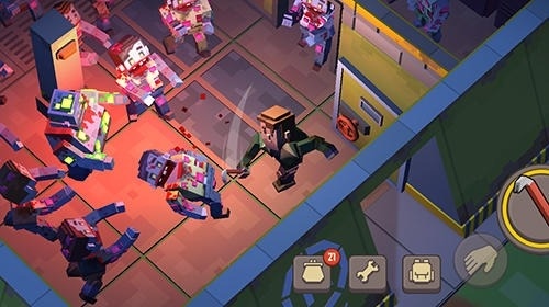 Cube Survival Story Android Game Image 2