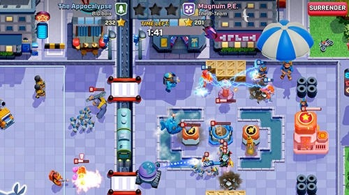 Rush Wars Android Game Image 3