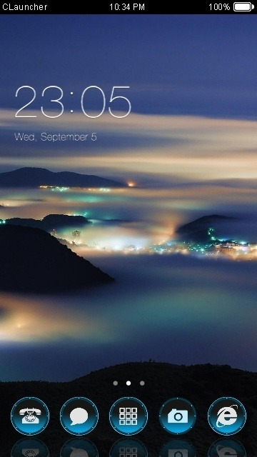 Nature CLauncher Android Theme Image 1