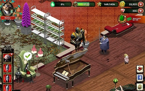 The Addams Family: Mystery Mansion Android Game Image 2
