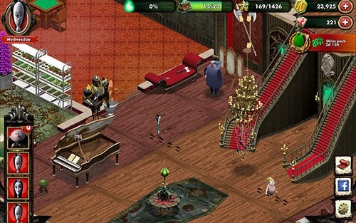 The Addams Family: Mystery Mansion Android Game Image 3