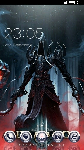 Devil CLauncher Android Theme Image 1