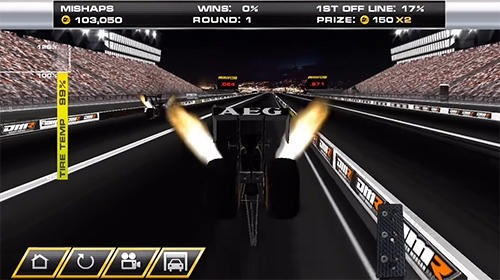 Dragster Mayhem: Top Fuel Drag Racing Android Game Image 2