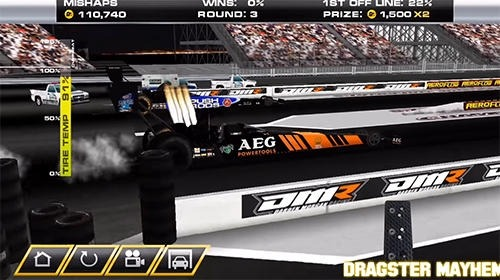 Dragster Mayhem: Top Fuel Drag Racing Android Game Image 4