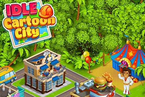 Idle Cartoon City Android Game Image 1