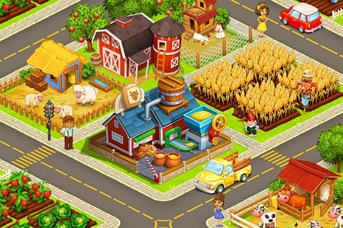 Idle Cartoon City Android Game Image 2