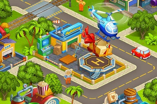 Idle Cartoon City Android Game Image 4