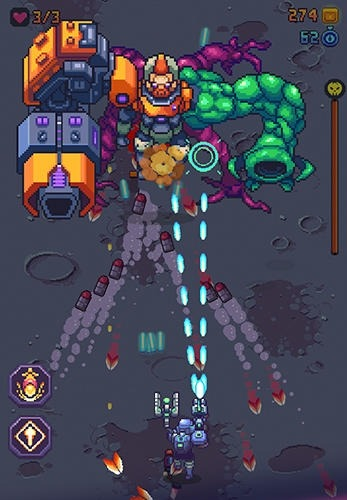 Space Gunner: Retro Alien Invader Android Game Image 4
