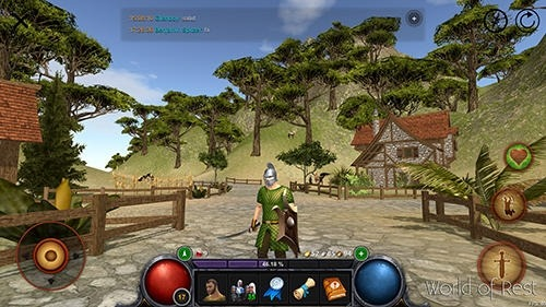 World Of Rest: Online RPG Android Game Image 4
