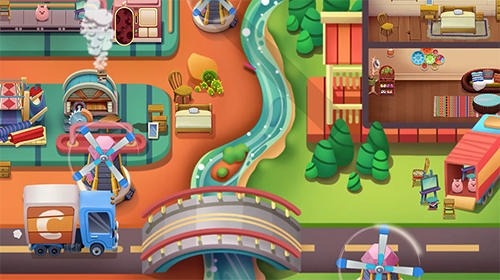 Craftory: Idle Factory And Home Design Android Game Image 3