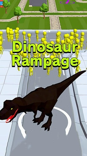 Dinosaur Rampage Android Game Image 1