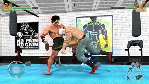 Bodybuilder Fighting Club 2019 Android Game Image 2