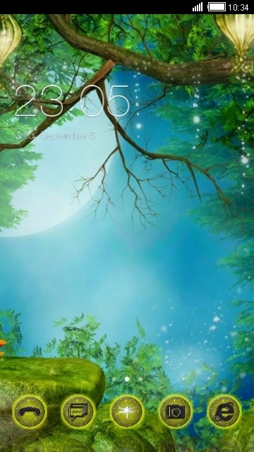 Fairyland CLauncher Android Theme Image 1