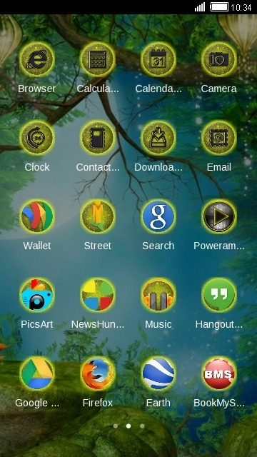 Fairyland CLauncher Android Theme Image 2