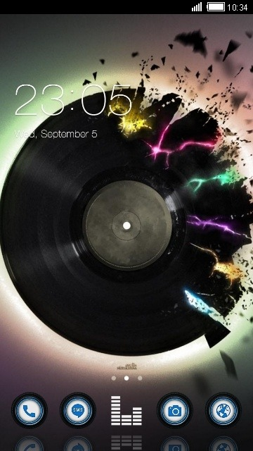 Record CLauncher Android Theme Image 1