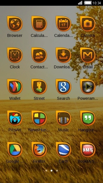 Field CLauncher Android Theme Image 2