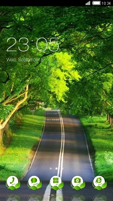 Road CLauncher Android Theme Image 1
