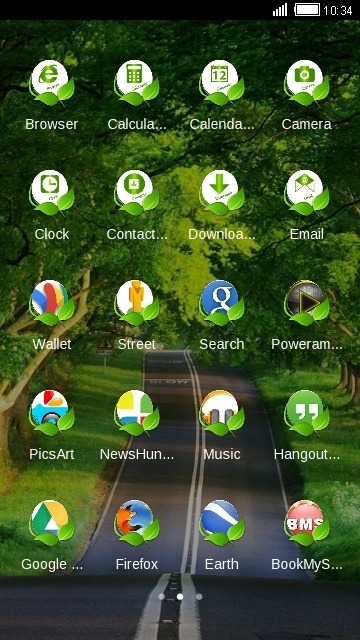 Road CLauncher Android Theme Image 2