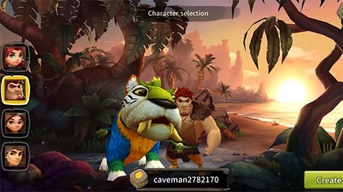 World Of Cavemen Android Game Image 2