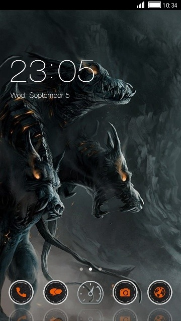 Dragons CLauncher Android Theme Image 1