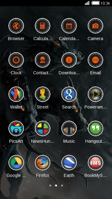 Dragons CLauncher Android Theme Image 2
