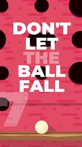 Don't Let The Ball Fall Android Game Image 1
