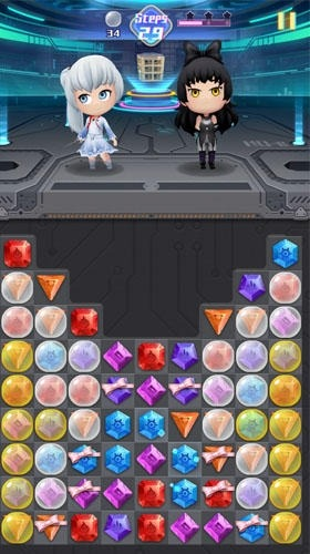 RWBY: Crystal Match Android Game Image 3