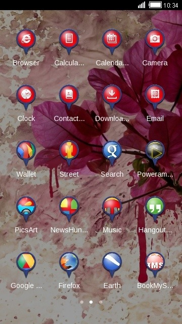 Leaf CLauncher Android Theme Image 2