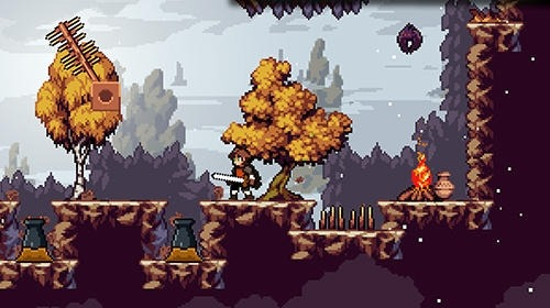 Apple Knight: Action Platformer Android Game Image 2