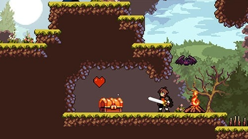 Apple Knight: Action Platformer Android Game Image 3