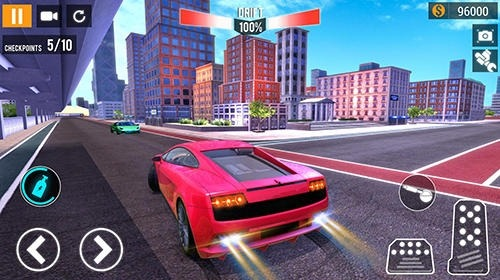 City Car Racing Simulator 2019 Android Game Image 2