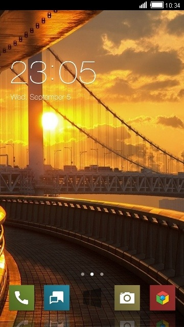 Bridge CLauncher Android Theme Image 1