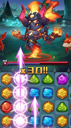 Raids And Puzzles: RPG Quest Android Game Image 2