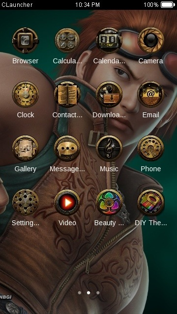 Hunk CLauncher Android Theme Image 2