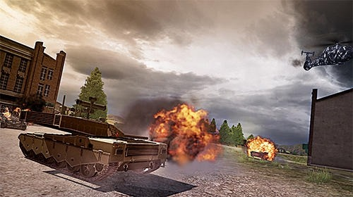 Clash Of Panzer Android Game Image 2