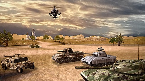 Clash Of Panzer Android Game Image 3